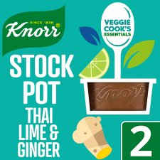 Knorr Stock Pot Kaffir Lime And Ginger 2 X 26G