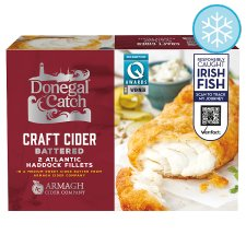 Donegal Catch Cider Battered Haddock 270G