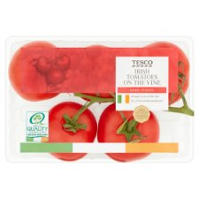 Tesco Tomatoes On The Vine 500G