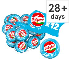 Mini Babybel Light Cheese 12 Pack, 240G