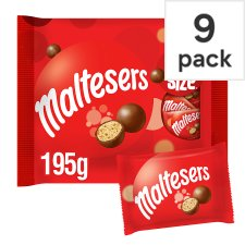 Maltesers Fun Size Minis 9 Pack 195G