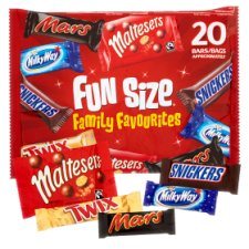 Mars Variety Fun Size 20 Pack 358G