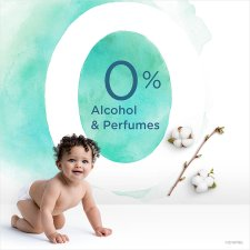 Pampers Aquapure Sensitive Itive 3X 48 Baby Wipes