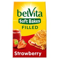 Belvita Soft Filled Strawberry Biscuits 250G