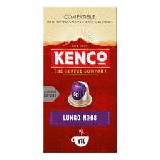Kenco Lungo Pod 10 Pack 52G