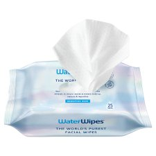 Waterwipes Sensitive Facial Wipes 25 Pack
