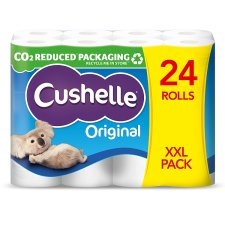 Cushelle Toilet Tissue 24 Roll White