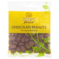 Forest Feast Chocolate Peanut 80G Clipstrip