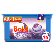 Bold All In One Washing Pods Lavender And Camomile 25 Washes 602.5G