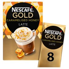 Nescafe Gold Caramelised Honey Latte 8X18g 144G