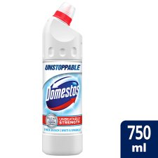 Domestos Ultra White And Sparkle Bleach 750Ml