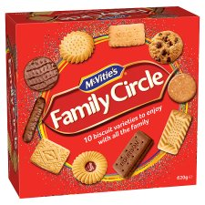 304402653: Mcvities Family Circle Biscuits 620G