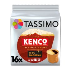 Tassimo Kenco 100% Colombian 16 Coffee Pods