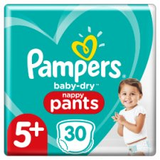 Pampers Baby Dry Pants S5p Nappies Essentia