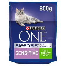 Purina One Cat Sensitive With Turkey And Rice 800G