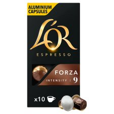 L'or. Forza Capsules 10 Piece 52G