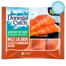 Donegal Catch Wild Salmon Fillets Bbq 420G
