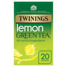 Twinings Grn/T Lemon 20 Tea Bags 40G