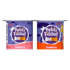 Petits Filous Strawberry Raspberry Fromage Frais 4 X85g