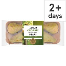 Tesco Organic Ripe And Ready Pears 550G
