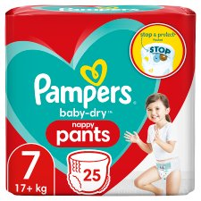 Pampers Baby Dry Pants Essential Pack Size 7 25 Nappies