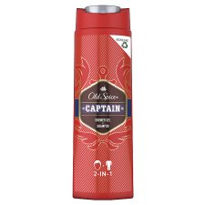Old Spice Captain Shower Gel And Shampoo 400Ml