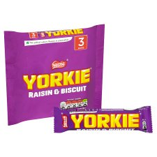 Yorkie Raisin And Biscuit 3 Pack 159G