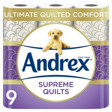 Andrex Toilet Tissue 9 Roll Quilts