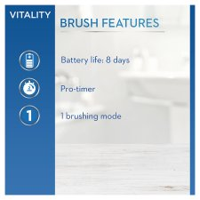 Oral-B Vitality+ 2 Heads Electric Toothbrush