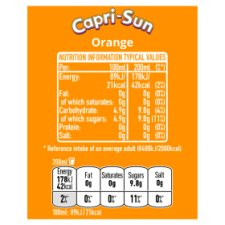 Capri Sun Orange 10X200ml