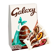Galaxy Milk Chocolate Indulgnt Collection Easter Egg 308G
