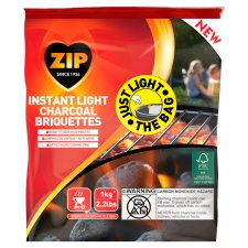 Zip 1Kg Instant Light Briquettes
