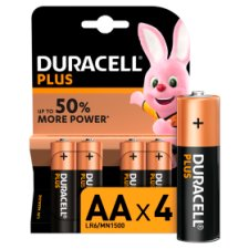 Duracell Plus Aa 4 Pack