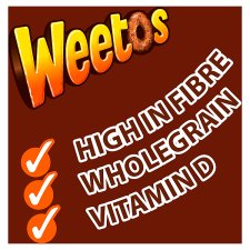 Weetabix Weetos Chocolate Cereal 500G