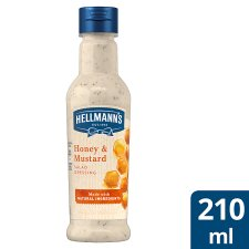 Hellmann's Honey Mustard Dressing 210Ml
