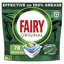 Fairy All In One Original Dishwasher 78 Tablets 1054G