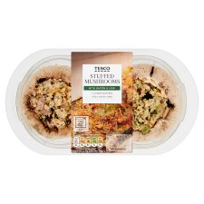 Tesco Stuffed Mushroom-Bacon And Leek 200G