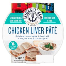 Kinsale Bay Food Co Chicken Liver Pate 120G