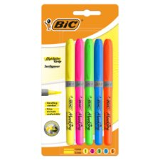 Bic 5 Pack Highlighters