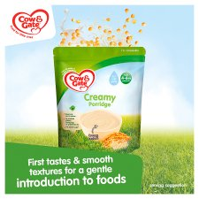 Cow And Gate Creamy Porridge Baby Cereal 4-6 Months 125G