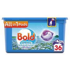 Bold All In One Washing Pods Spring Awakening 36 Washing 867.6G