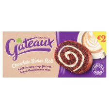 Gateaux Swiss Roll Chocolate 195G