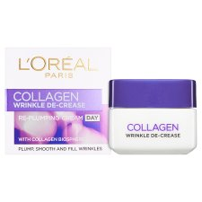 L'oreal Paris Collagen Wrinkle D/Crease Day Cream 50Ml
