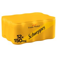 Schweppes Tonic Water 12x150ml pack