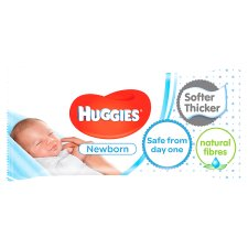 Huggies New Born 56 Baby Wipes