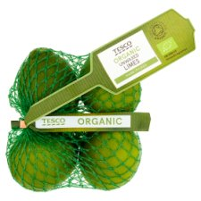 Tesco Organic Limes Minimum 3 Pack
