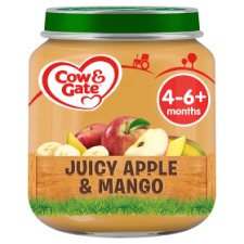 Cow & Gate Stage 1 Apple And Mango 125G Jar
