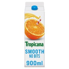 Tropicana Orange Juice Smooth 950 Ml