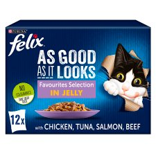 Felix Good As Favourites Selection In Jelly 12X100g