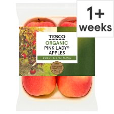 Tesco Organic Pink Lady Apples Approx 4